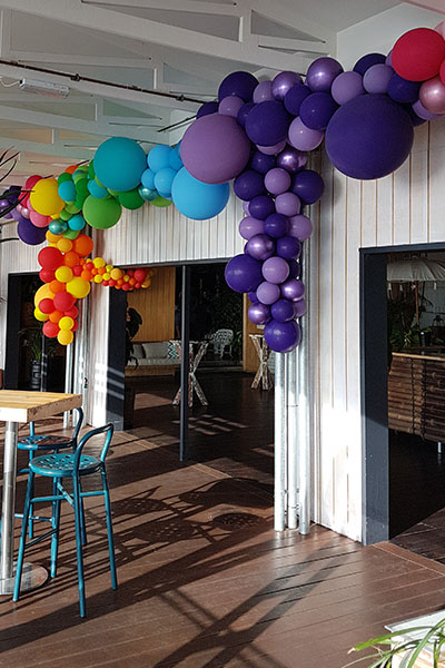 Balloon Garland Multi Coloured Balloons Kwinana Perth