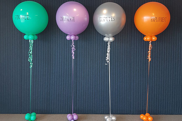 Business Function Personalised Balloons Kwinana Perth