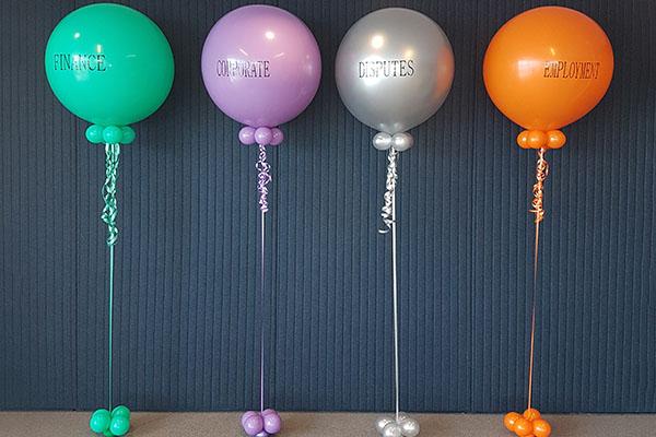 Business Function Personalised Balloons Kwinana Perth