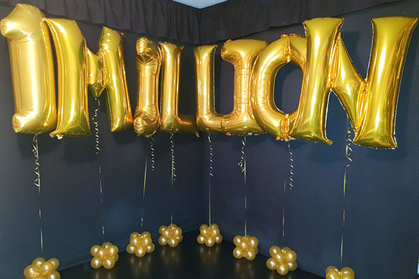 Foil Helium Letter And Number Balloon Bouquets Kwinana Perth