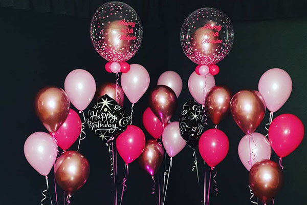 Helium Balloon In A Balloon Birthday Party Celebration Kwinana Perth