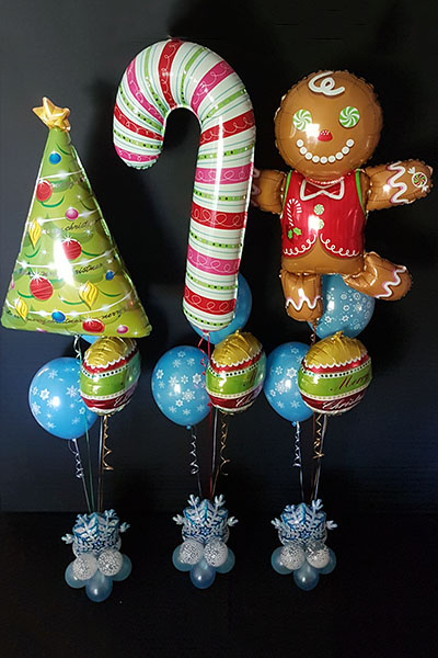 Helium Foil Christmas Balloons Decoration Delebration Kwinana Perth