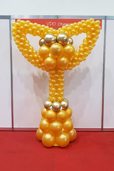 Kwinana Light It Up Balloons Column Trophy