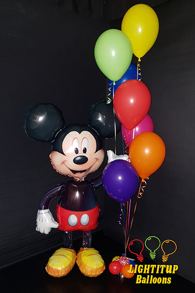 Micky Mouse Birthday Celebration Balloons