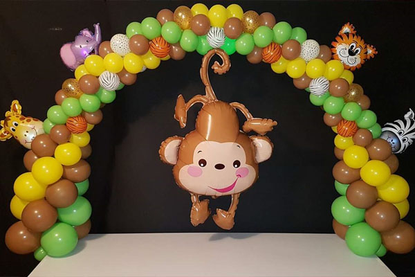 Nursery Baby Animal Balloon Arch Way Kwinana Perth