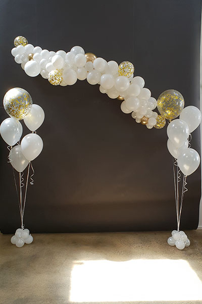 Photo Back Drop Balloons Wedding Kwinana Perth