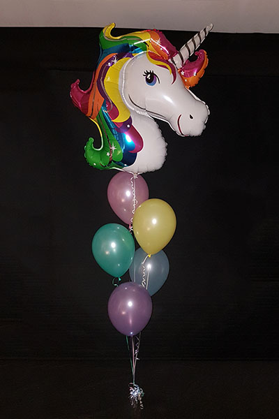 Unicorn Bouquet Light It Up Balloons Kwinana Perth