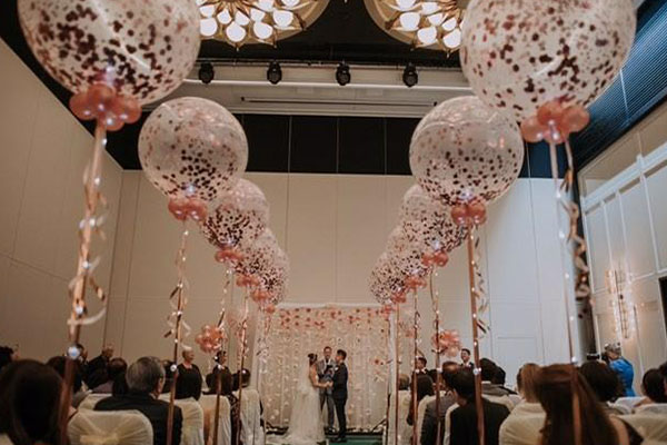 Wedding Decoration Confetti Balloons Perth Kwinana