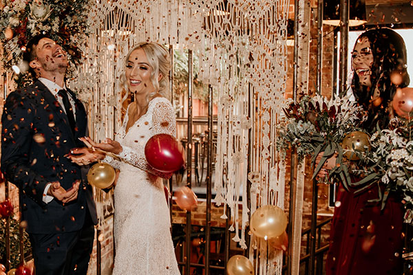 Wedding Mini Balloon Drops Perth Kwinana