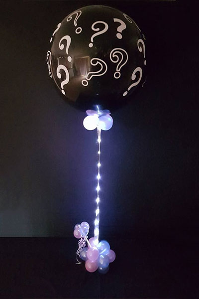 Kwinana Gender Reveal Balloons Light It Up Balloons Lite Up Balloons