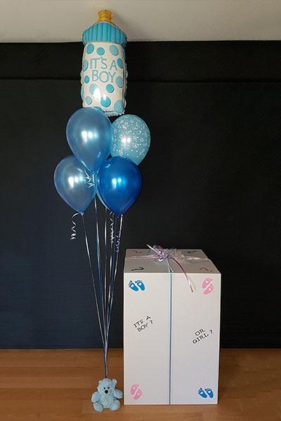 Kwinana Pertth Gender Reveal Balloons Light It Up Balloons