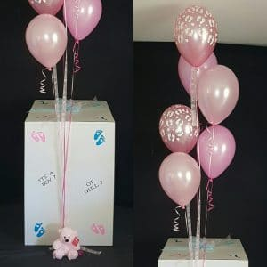 Its A Girl Gender Reveal Box 300x300