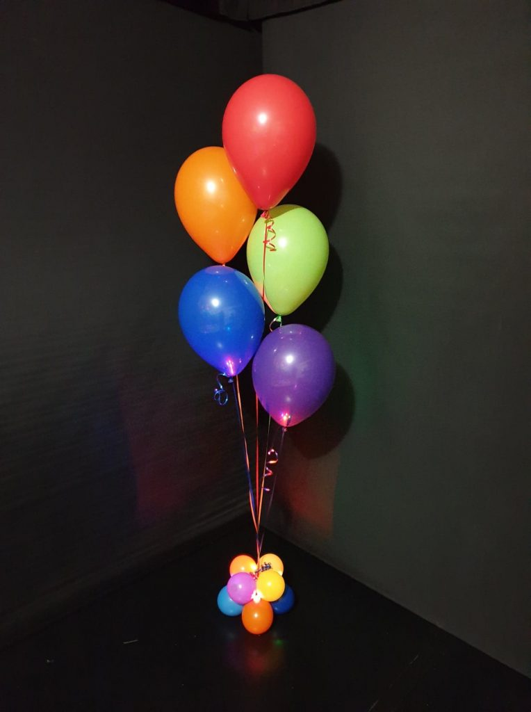 5 Balloons Bouquet