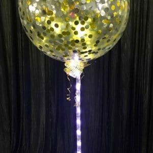 Large Lightitup Confetti Balloons