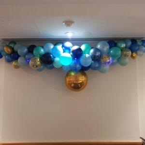 Organic Mix Balloon Setup