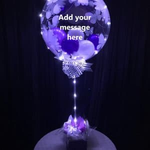 Lightitup Halo Bubble Table Centrepiece