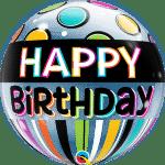 Birthday Black Band & Dots