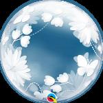 Deco Bubble Butterflies & Flowers