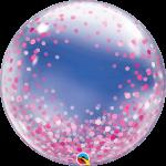 Deco Bubble Pink Confetti