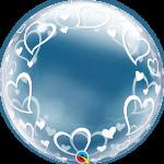 Deco Bubble Stylish Hearts