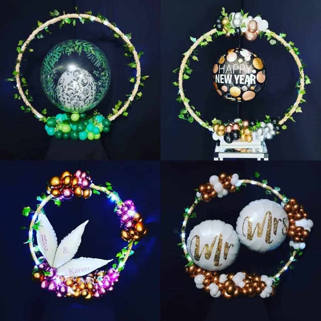 Organic Table Rings
