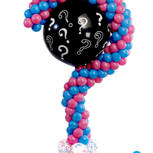 Question Mark Balloon Column