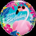 Birthday Tropical Flamingo