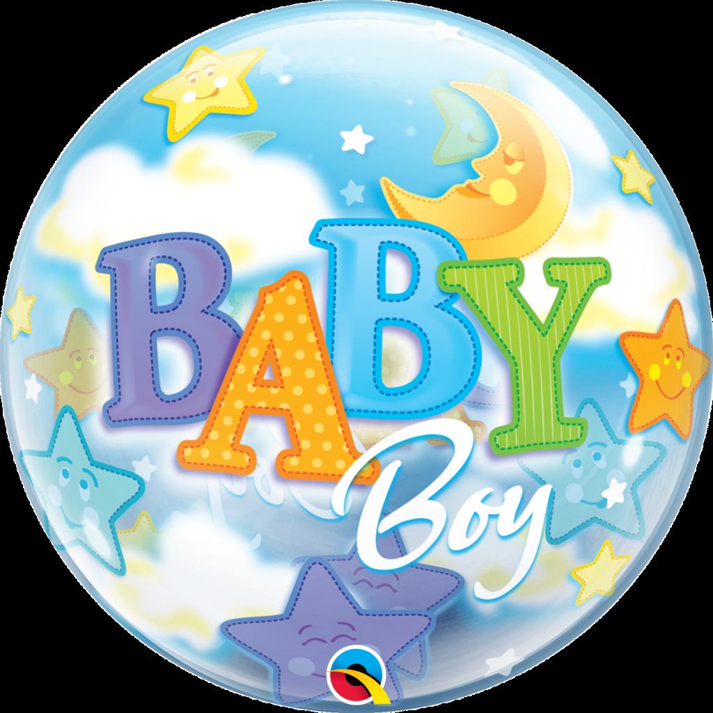 Baby Boy Moon & Stars