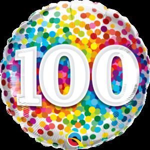100 Rainbow Confetti