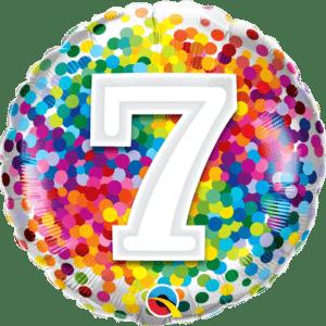 7 Rainbow Confetti