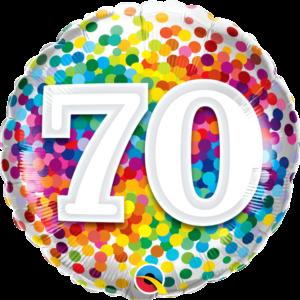 70 Rainbow Confetti