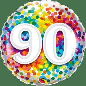 90 Rainbow Confetti