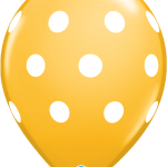 Big Polka Dots Goldenrod