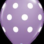 Big Polka Dots Spring Lilac