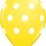 Big Polka Dots Yellow