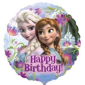 Frozen Happy Birthday Foil Balloon
