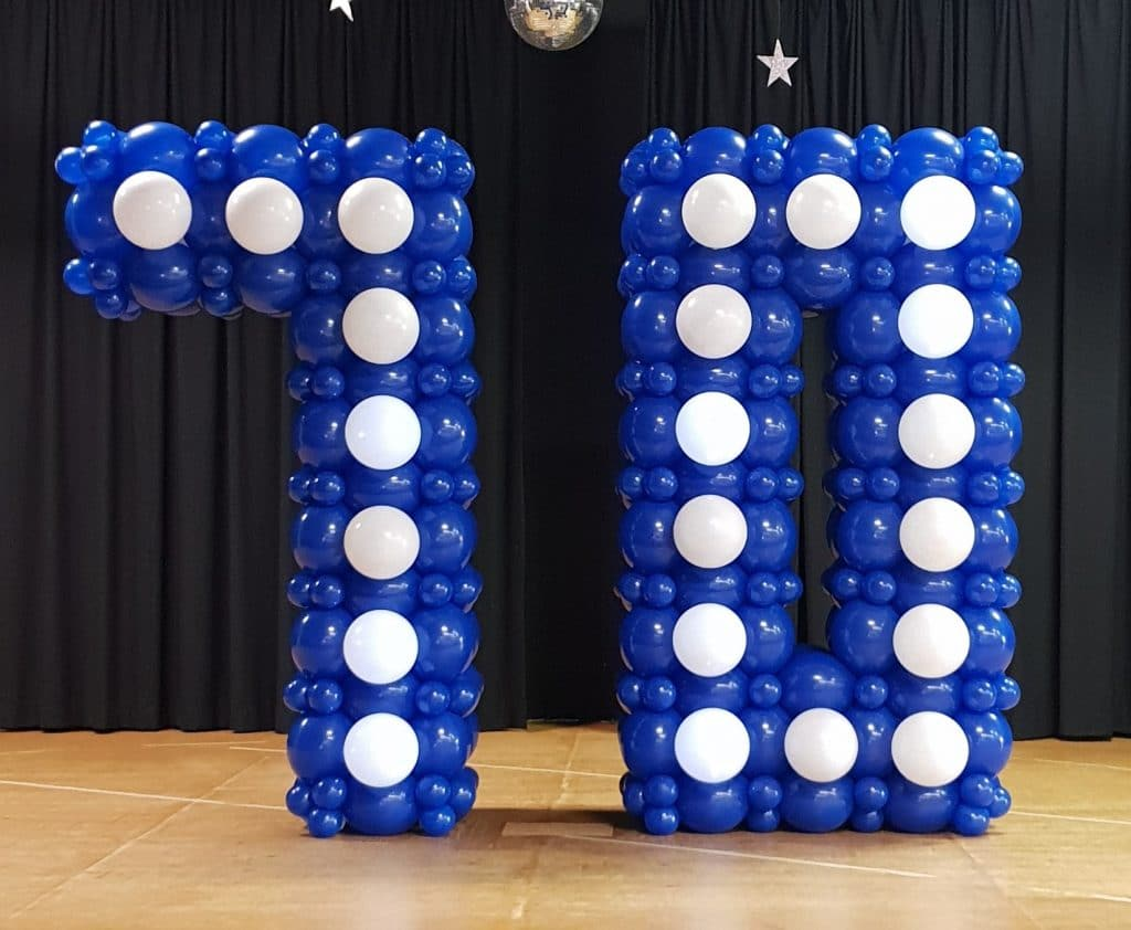 Large Lightitup Balloon Numbers