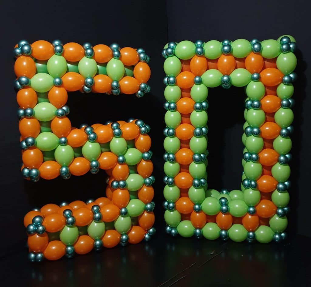 Medium Balloon Numbers