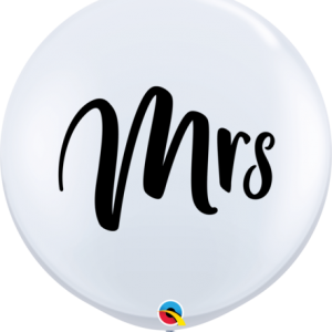 3ft Round White Mrs