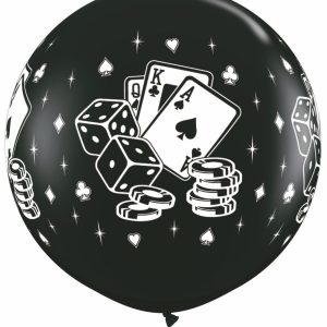 Casino Dice & Cards Black