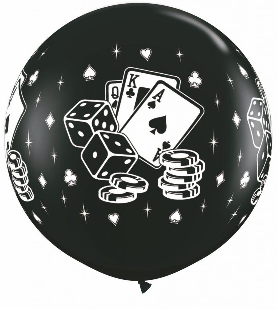 Casino Dice & Cards Black