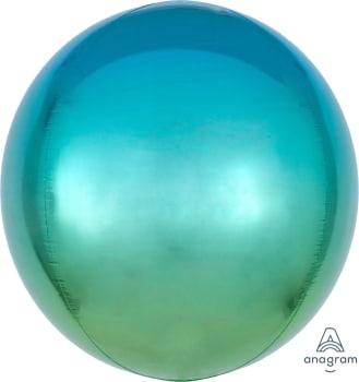 Ombre Orbz Blue & Green