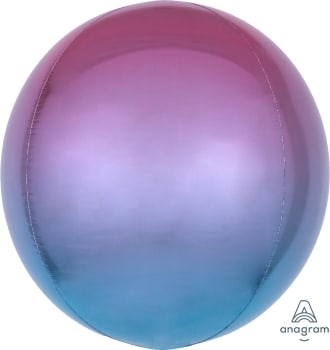 Ombre Orbz Pink Purple & Blue