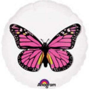 Pink Butterfly Magicolour Balloon