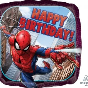 Spider Man Happy Birthday