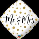 Mr & Mrs Gold Dots