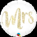 Mrs Glitter Gold