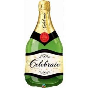 Celebrate Bubbly Wine Bottle