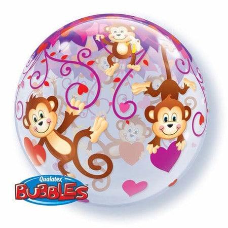 Love Monkeys Bubble Balloon