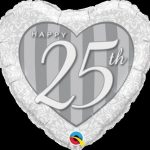 Happy 25th Damask Heart